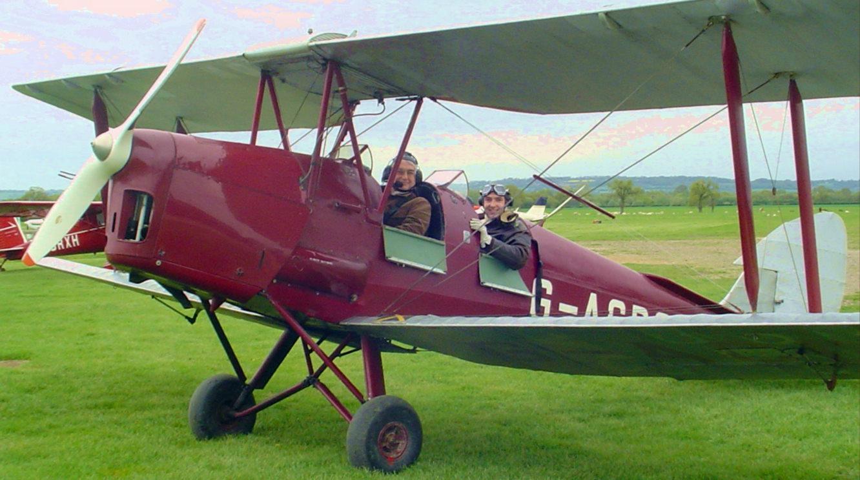 De Havilland DH-82 Tiger Moth K-4259 | At Headcorn | Colin